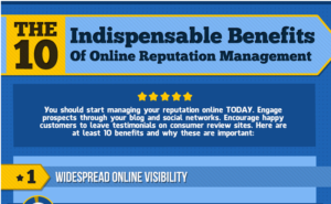 Appear, Engage, & Influence: Get the 10 Benefits of Online Reputation Management [Infographic]